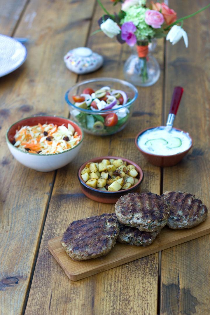 Een menu uit de Griekse keuken